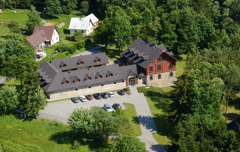 Romantický hotel na Šumavě