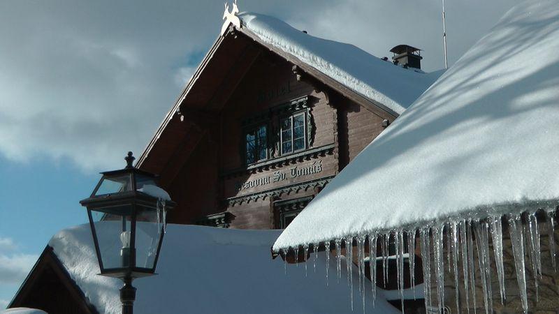 Vánoce na horách - Šumava - Chalupa na Javorné