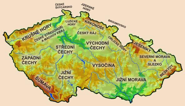 Ceske Vylety Prehled Oblasti